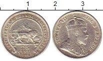 Изображение Монеты Восточная Африка 25 центов 1906 Серебро XF