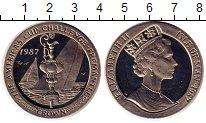 Изображение Монеты Остров Мэн 1 крона 1987 Медно-никель UNC
