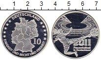 Изображение Мелочь Германия Медаль 2011 Посеребрение Proof-