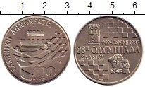 Изображение Монеты Греция 100 драхм 1988 Медно-никель UNC- Олимпиада