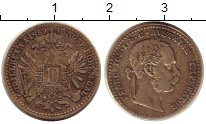 Изображение Монеты Австрия 10 крейцеров 1869 Серебро XF