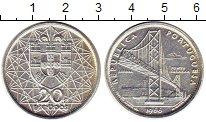 Изображение Монеты Португалия 20 эскудо 1966 Серебро XF