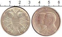 Изображение Монеты Греция 30 драхм 1964 Серебро UNC- Свадьба Константина
