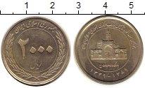 Изображение Монеты Иран 2000 риалов 2010 Медно-никель UNC-