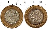 Изображение Монеты Мексика 10 песо 2008 Биметалл XF
