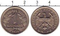 Изображение Монеты Веймарская республика 1 марка 1934 Медно-никель XF А