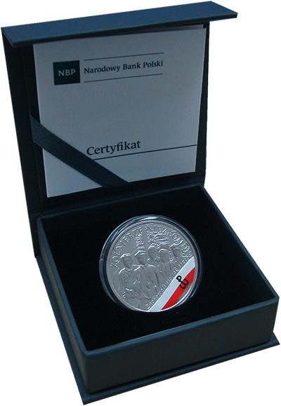 Изображение Подарочные монеты Польша 10 злотых 2017 Серебро Proof Монета посвящена Ант