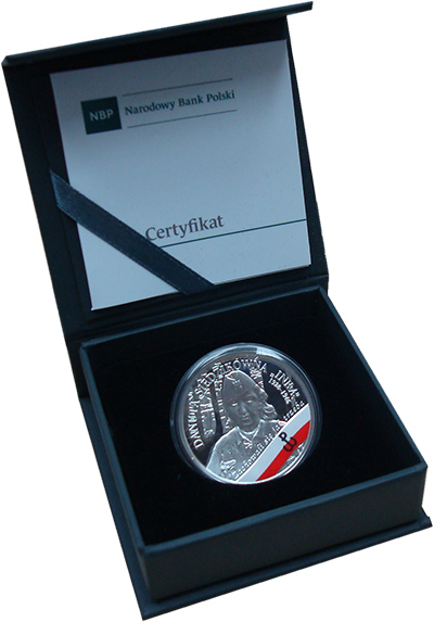 Изображение Подарочные монеты Польша 10 злотых 2017 Серебро Proof Монета посвящена Дан