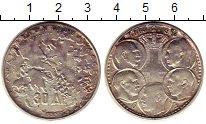 Изображение Монеты Греция 30 драхм 1963 Серебро XF 100-летие династии Г
