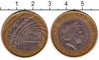 Изображение Монеты Великобритания 2 фунта 2006 Биметалл XF 200 лет со дня рожде