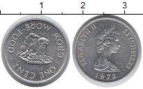 Изображение Монеты Сейшелы 1 цент 1972 Алюминий UNC- ФАО,корова