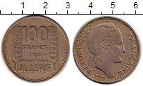 Изображение Монеты Алжир 100 франков 1950 Медно-никель XF Колония Франции