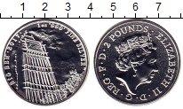 Изображение Монеты Великобритания 2 фунта 2017 Серебро UNC Елизавета II. Биг Бе