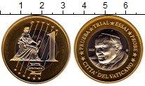 Изображение Монеты Ватикан 1 евро 2005 Биметалл UNC Проба.