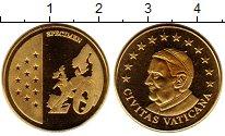 Изображение Монеты Ватикан 20 евроцентов 2010 Латунь UNC Пробник.