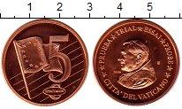 Изображение Монеты Ватикан 5 евроцентов 2006 Бронза UNC Понтифик  Иоанн  Пав