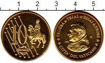Изображение Монеты Ватикан 10 евроцентов 2006 Латунь UNC Понтифик  Иоанн  Пав
