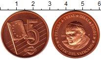 Изображение Монеты Ватикан 5 евроцентов 2005 Бронза UNC Понтифик  Иоанн  Пав