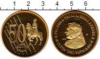 Изображение Монеты Ватикан 50 евроцентов 2006 Латунь UNC Проба.