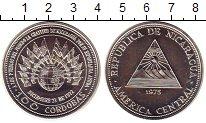 Изображение Монеты Никарагуа 100 кордобас 1975 Серебро UNC
