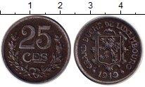 Изображение Монеты Люксембург 25 сантим 1919 Железо
