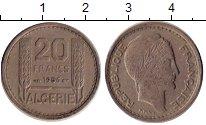 Изображение Монеты Алжир 20 франков 1956 Медно-никель XF Французская оккупаци