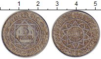 Изображение Монеты Марокко 5 франков 1948 Алюминий XF