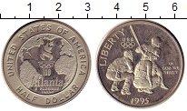 Изображение Монеты США 1/2 доллара 1995 Медно-никель UNC