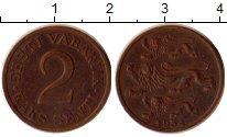 Изображение Монеты Эстония 2 сенти 1934 Медь XF