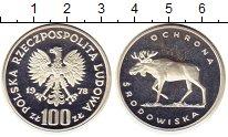 Изображение Монеты Польша 100 злотых 1978 Серебро Proof-