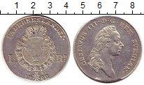 Изображение Монеты Швеция 1 далер 1782 Серебро XF герб - Король Густав