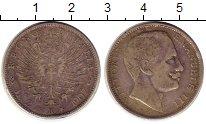Изображение Монеты Италия 2 лиры 1907 Серебро VF Витторио Имануил III