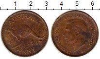 Изображение Монеты Австралия 1 пенни 1943 Медь VF