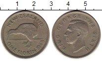 Изображение Монеты Новая Зеландия 1 флорин 1949 Медно-никель XF