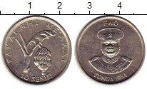 Изображение Монеты Тонга 10 сенити 1981 Медно-никель XF