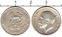 Изображение Монеты Великобритания 6 пенсов 1914 Серебро VF Георг V