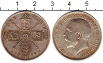 Изображение Монеты Великобритания 1 флорин 1919 Серебро XF Георг V