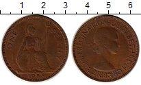 Изображение Монеты Великобритания 1 пенни 1955 Медь XF