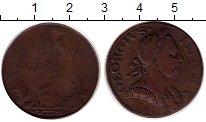 Изображение Монеты Великобритания 1/2 пенни 1770 Медь