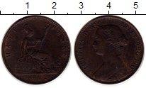 Изображение Монеты Великобритания 1/2 пенни 1862 Медь XF Виктория.