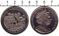 Изображение Монеты Великобритания Аскенсион 1 крона 2014 Медно-никель UNC-