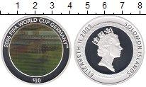 Изображение Монеты Соломоновы острова 10 долларов 2005 Серебро Proof
