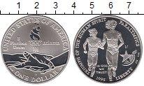 Изображение Монеты США 1 доллар 1995 Серебро Proof- Паралимпийские игры