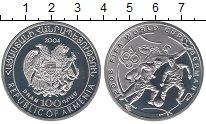 Изображение Монеты Армения 100 драм 2004 Серебро Proof