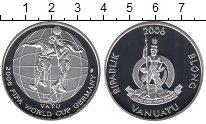 Изображение Монеты Вануату 50 вату 2006 Серебро Proof