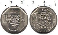 Изображение Монеты Перу 1 соль 2014 Медно-никель UNC Памятники культуры и