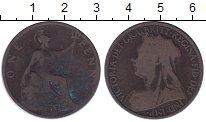 Изображение Монеты Великобритания 1 пенни 1896 Бронза VF