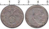 Изображение Монеты Третий Рейх 2 марки 1937 Серебро XF А