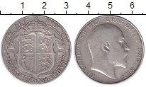 Изображение Монеты Великобритания 1/2 кроны 1908 Серебро XF-