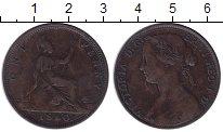 Изображение Монеты Великобритания 1 пенни 1860 Бронза XF-